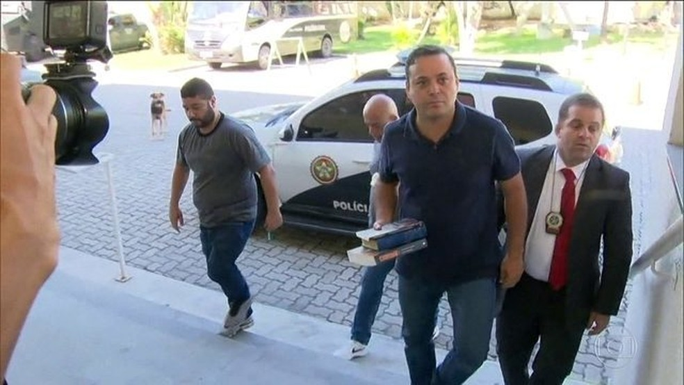 Prefeito de Niterói foi preso suspeito de receber propina — Foto: Reprodução/JN