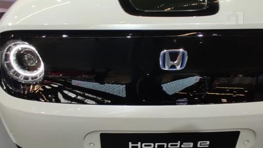 VÍDEO: 'Entre' no 1º carro compacto elétrico da Honda