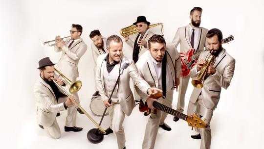 Big Time Orchestra, do 'SuperStar', prepara show de lançamento de CD e DVD 'Vem Quente Que Eu Estou Fervendo'