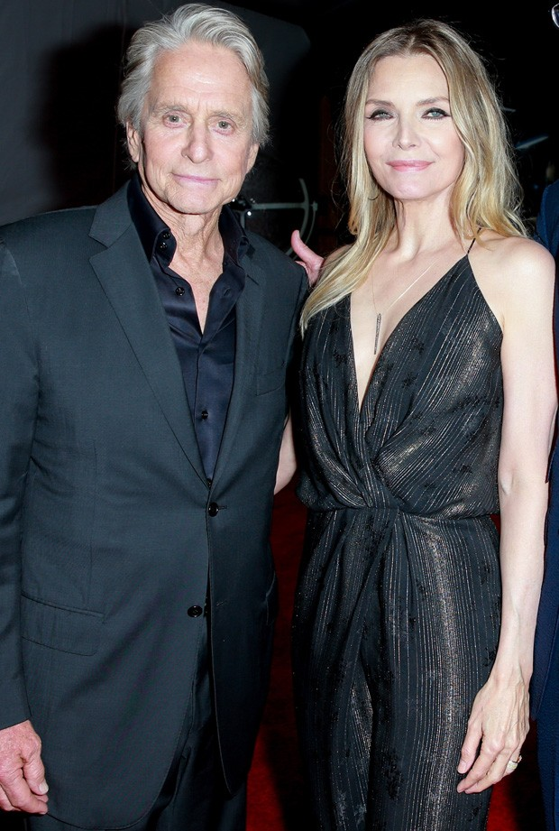 Michelle Pfeiffer e Michael Douglas (Foto: Getty Images)