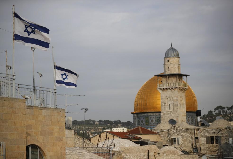 -  O reconhecimento de Jerusalém como capital de Israel pelos EUA pode causar prejuízos ao processo de paz no Oriente Médio  Foto: Thomsa Coex/AFP