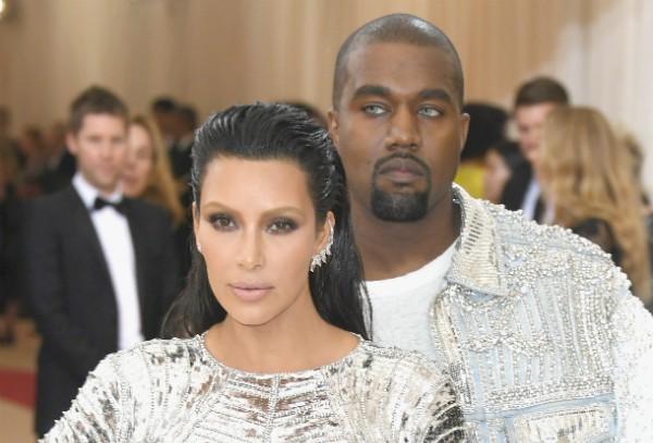 Kim Kardashian e Kanye West durante o MET Gala 2016 (Foto: Getty Images)