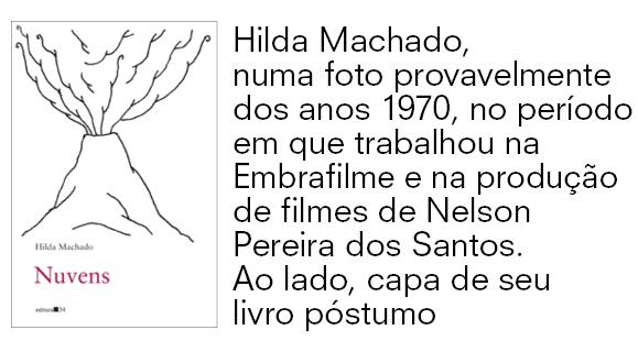 Livro Nuvens, Hilda Machado (Foto: Divulgação)