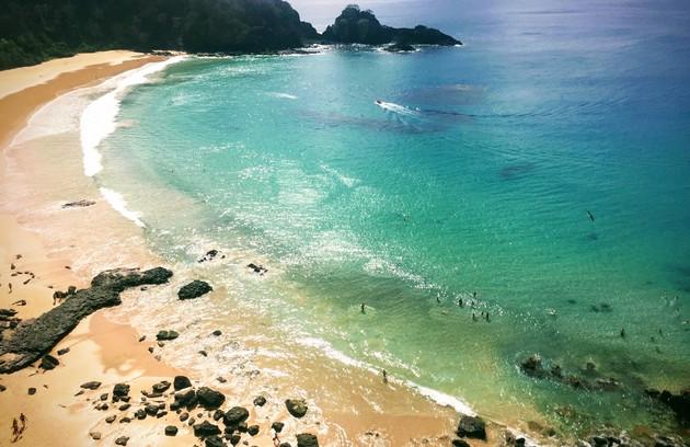 A minissérie foi gravada em duas partes de Pernambuco, no arquipélago de Fernando de Noronha e na praia de Carne de vaca, distrito de Goiana (Foto: Marcelo Balbio)