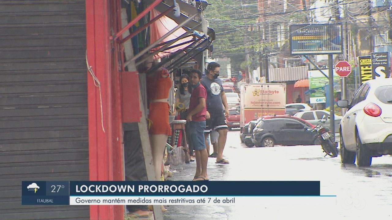 'Lockdown' é prorrogado por mais 7 dias no Amapá e mantém fechamento do comércio