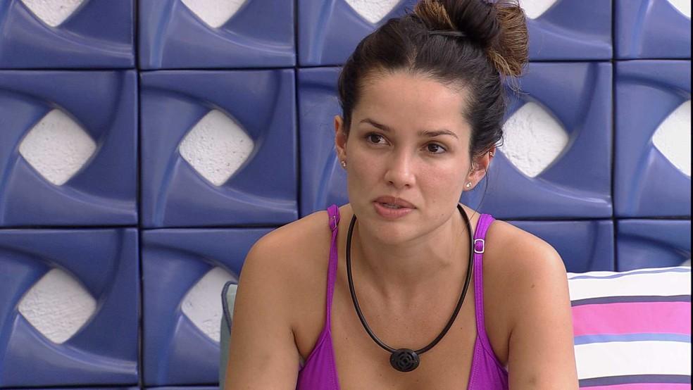 Juliette fala sobre sua postura no BBB21: 'Não quero jogar com a vida das pessoas' — Foto: Globo