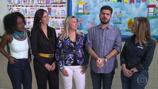 Encontro conversa com pais sobre como escolher uma escola para os filhos