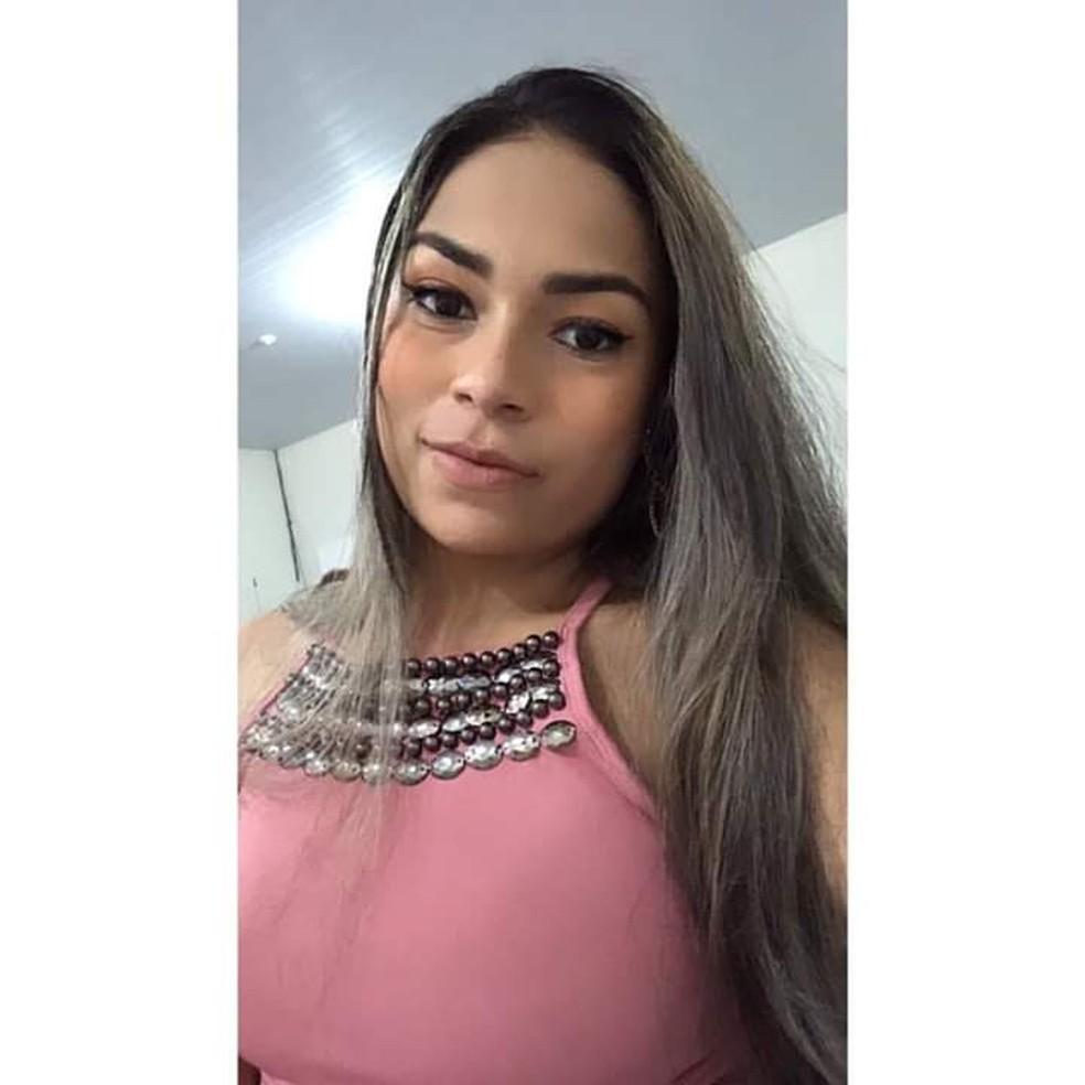Gabriely Auxiliadora Souza Silva, de 20 anos, foi assassinada em Rondonópolis — Foto: Reprodução Redes Sociais