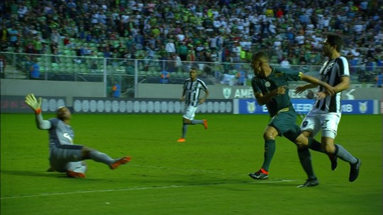 Ataque isolado, armas marcadas... Como o Botafogo perdeu para o América-MG