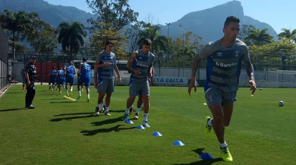 Apesar de tratamento, Luan não deve jogar contra Botafogo