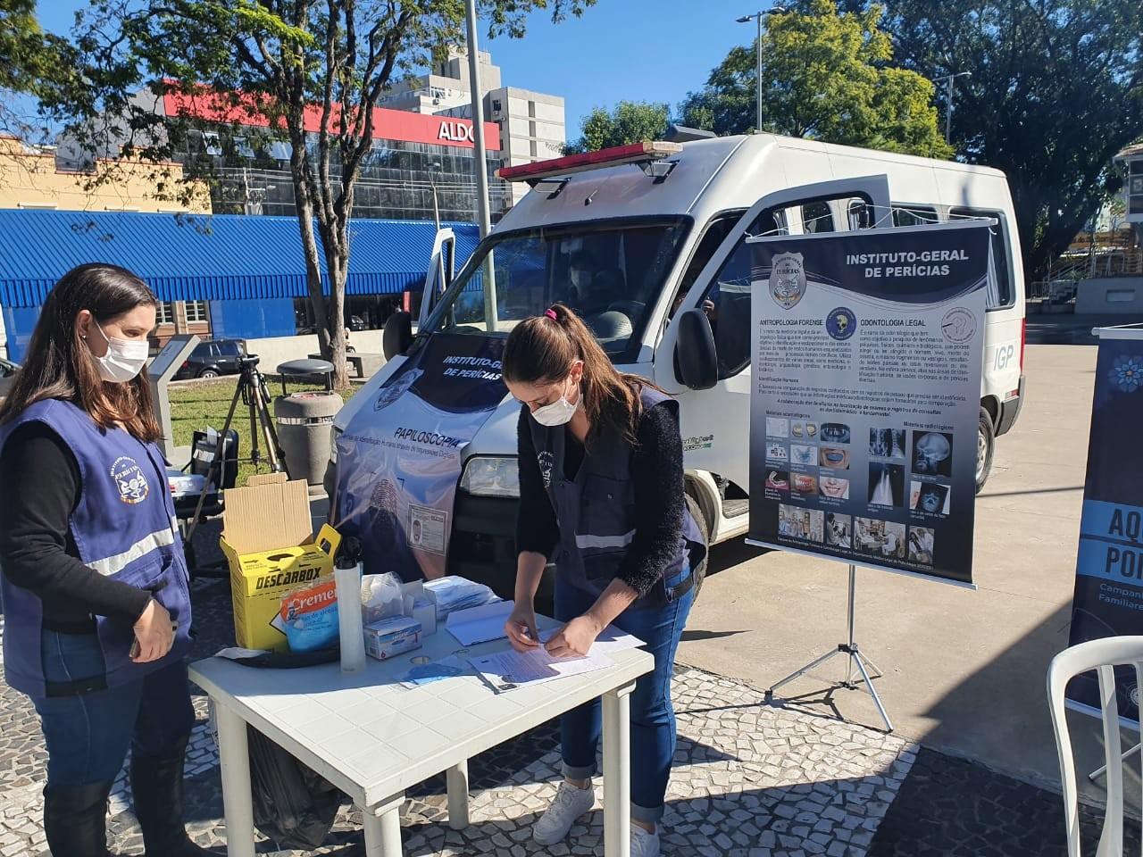 Campanha faz mutirão para coleta de DNA de familiares de desaparecidos no RS; veja locais
