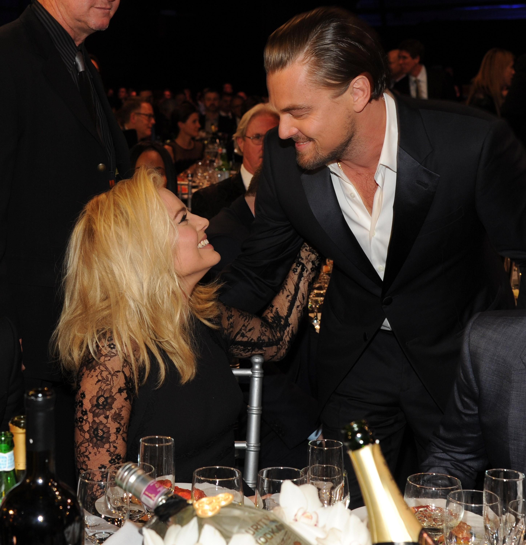Margot Robbie e Leonardo DiCaprio (Foto: Foto: Getty Images)