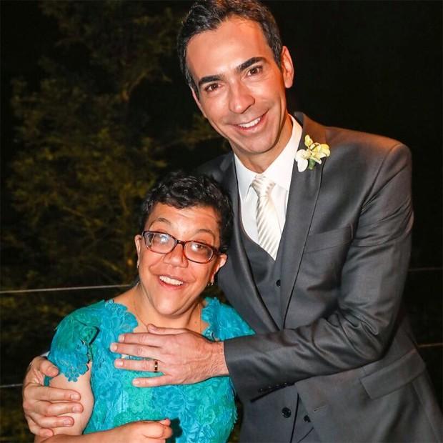 Gabriela Tralli e César Tralli (Foto: Reprodução/Instagram)