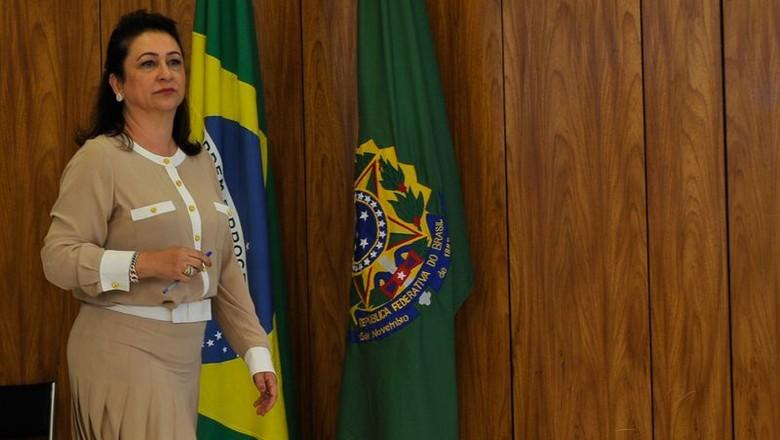 katia_abre_ministra (Foto: Elza Fiúza/Agência Brasil)