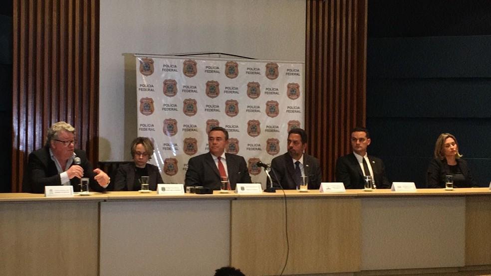 Operação foi deflagrada pela PF em conjunto com a CGU e TCU (Foto: Mariana de Ávila/G1)