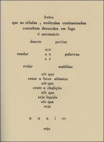 Depois da bomba, saberemos ler poemas? | Afonso Borges - O
