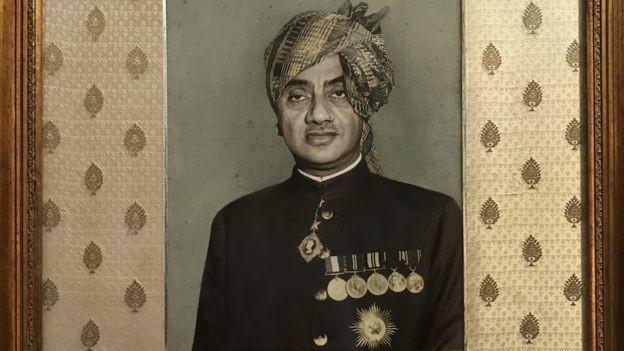 Antes de morrer, o marajá de Bhavnagar doou todas as vacas para Celso Cid (Foto: BBC)