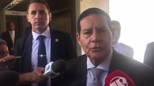 Mourão: militares falam em mudança na aposentadoria após aprovação da PEC da Previdência no Congresso