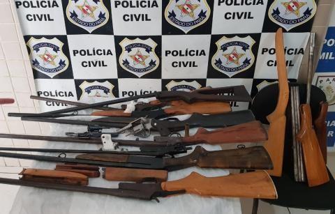 Polícia Civil desarticula ponto de comércio e fabricação ilegal de armas de fogo em Castanhal, no PA - Notícias - Plantão Diário
