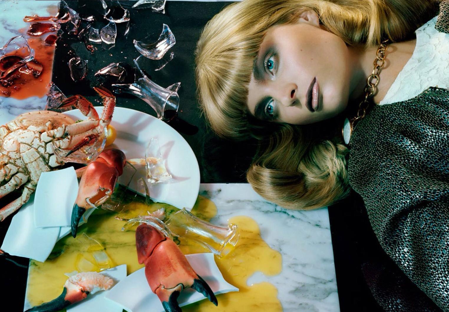 Câncer (Foto: Miles Aldridge/ Vogue Itália)