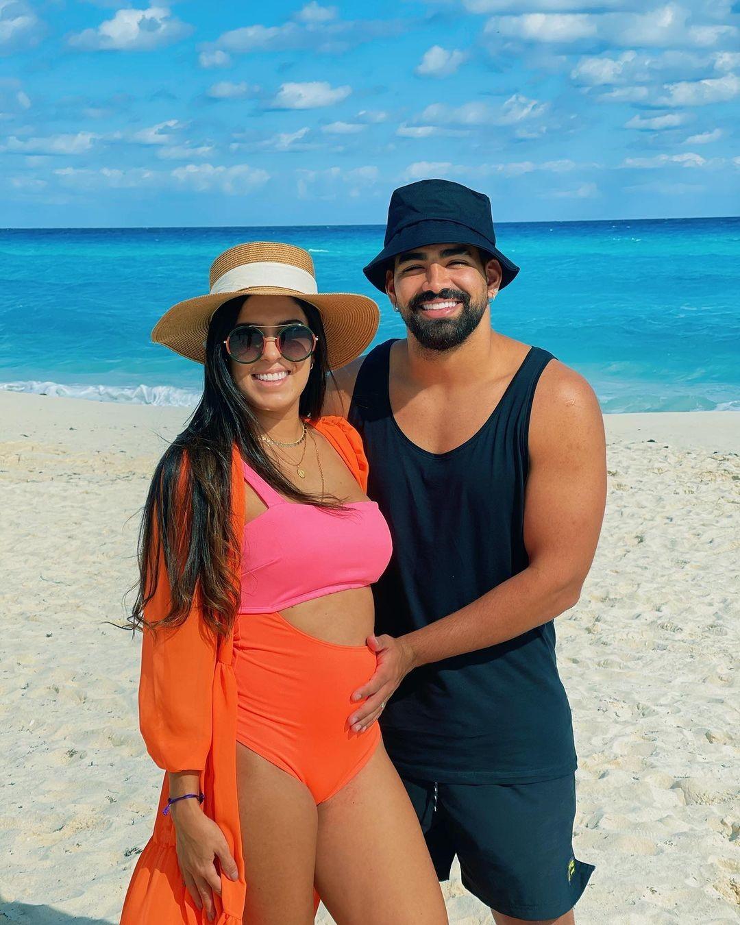 Dilsinho e Beatriz Ferraz (Foto: Reprodução/Instagram)