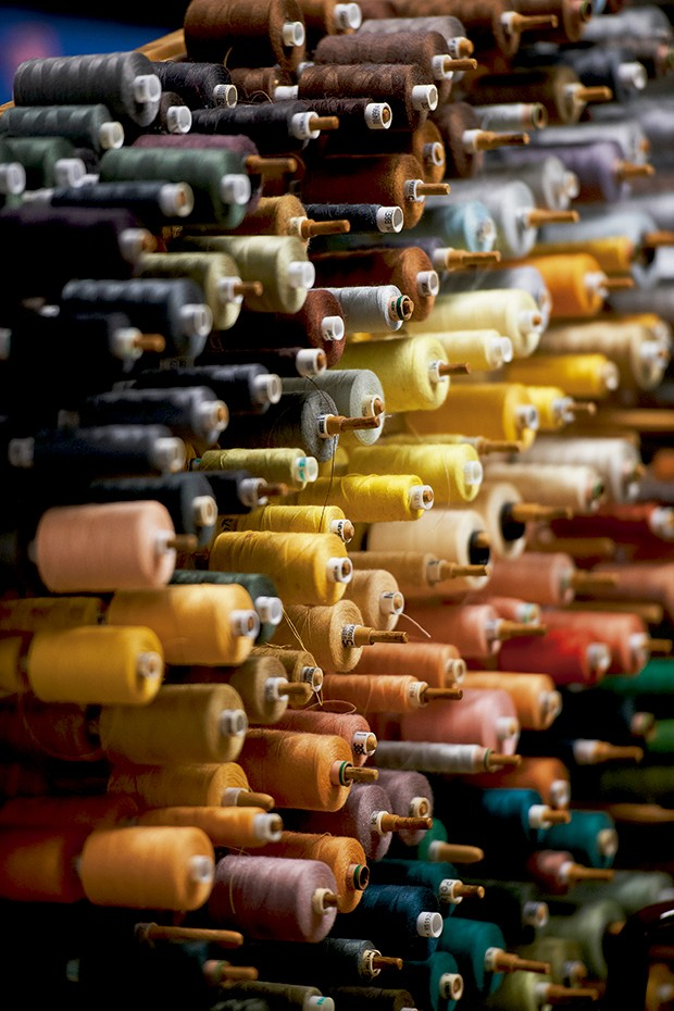 Cashmere - A variedade de  linhas em Barrie (Foto: O.Saillant, Lucile Perron)