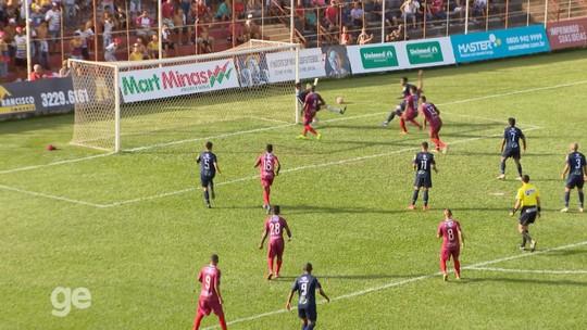 Como um gato! Goleiro do Guarani-MG faz três defesas em sequência no Campeonato Mineiro; veja lance