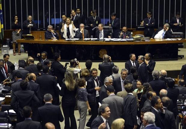 Sessão do Congresso Nacional vota vetos presidenciais (Foto: José Cruz/Agência Brasil)
