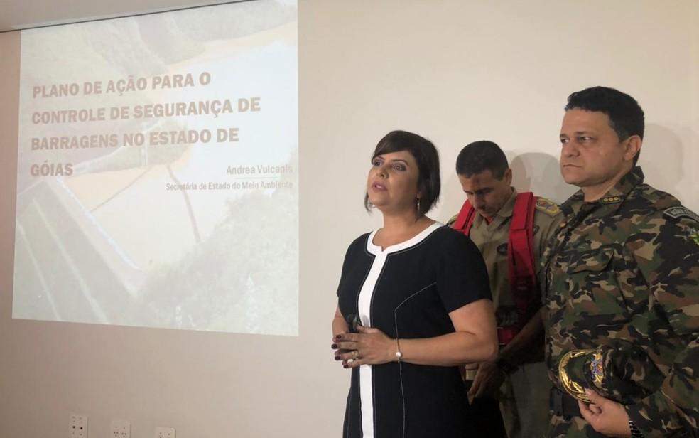 Secretaria de Meio Ambiente, Corpo de Bombeiros e PM Ambiental iniciam força-tarefa para mapear represas em Goiás — Foto: Murillo Velasco/ G1