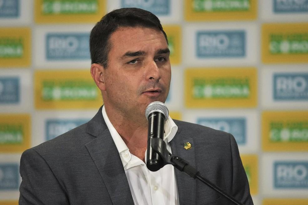 Flavio Bolsonaro — Foto: Saulo Angelo/Futura Press/Estadão Conteúdo