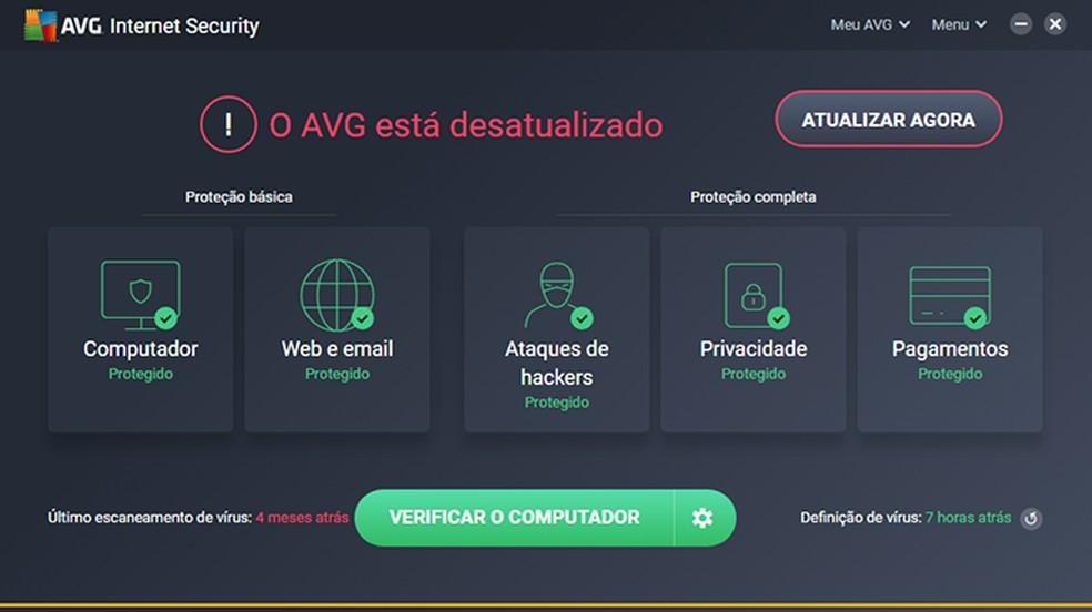 Descubra se o PC está infectado com vírus — Foto: Reprodução/Paulo Alves