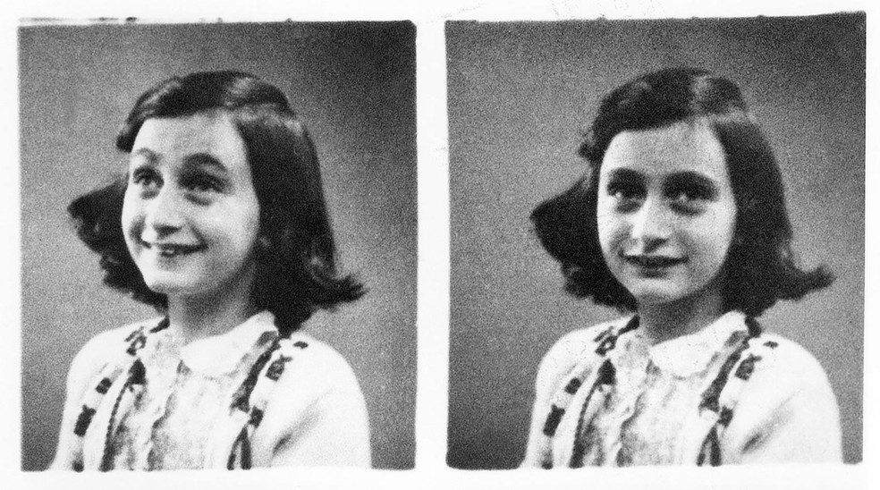 Fotos de Anne Frank — Foto: DESK/ANP/AFP