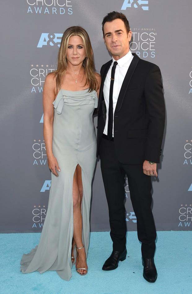 Jennifer Aniston e Justin Theroux (Foto: Getty Images)
