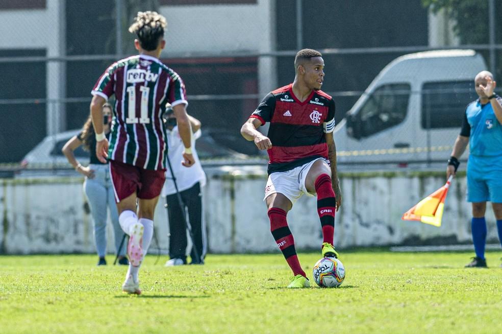Natan Flamengo — Foto: Marcelo Cortes / Flamengo