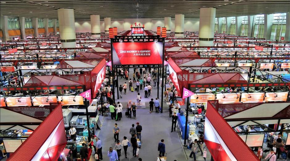 A Feira de Cantão, na China, é a maior da Ásia e traz diversas oportunidades para empreendedores de todo o mundo (Foto: Divulgação)