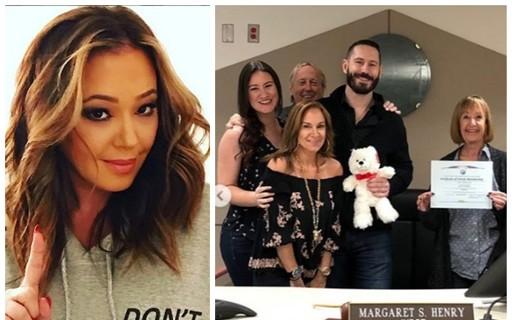 Atriz Leah Remini Comemora Adoção Do Ex-cunhado Após Ele