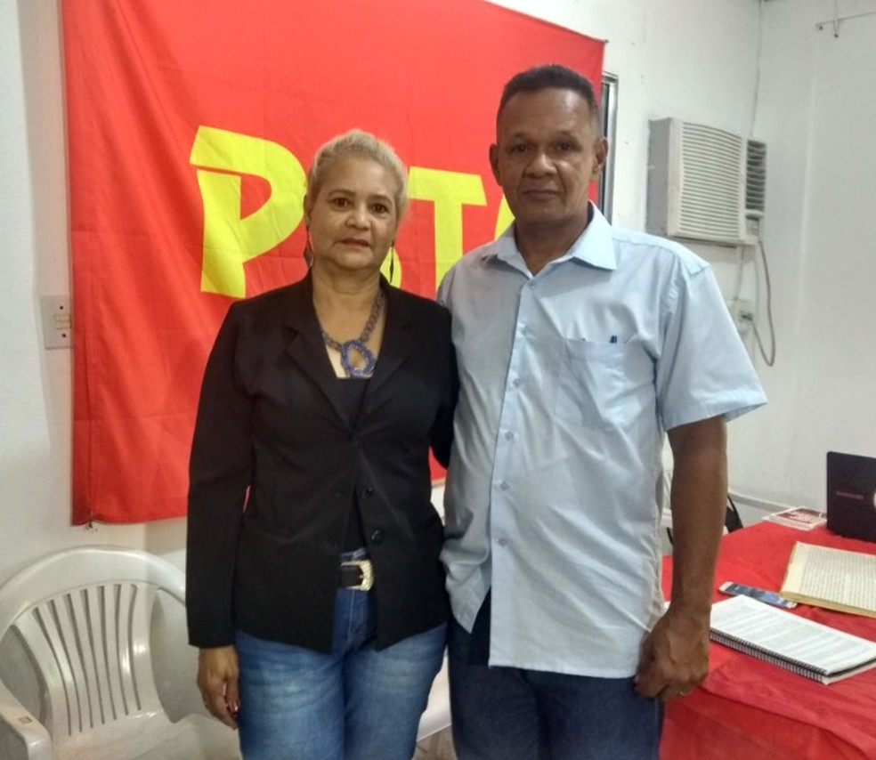 Sidney Cabral entra para a disputa do governo do Amazonas, junto a professora Maria Auxiliadora Castro  (Foto: Ive Rylo/ G1 AM)
