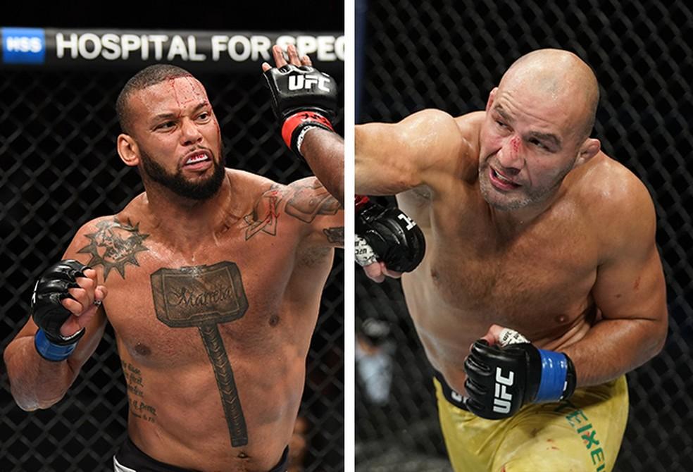 Thiago Marreta está fora da luta contra Glover Teixeira no UFC — Foto: Infoesporte