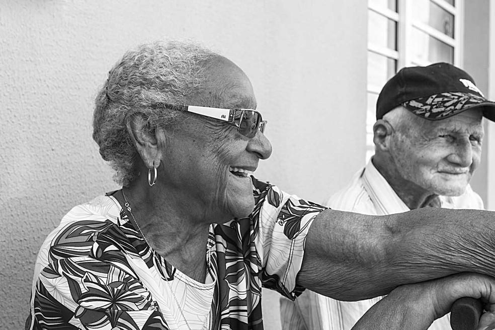 Dona Eulália ficou famosa por causa do bolo de arroz  (Foto: Amaury Santos/ Divulgação)
