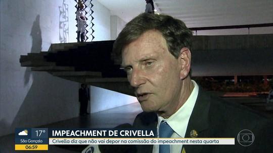 Prefeito Marcelo Crivella anuncia que não vai depor na Comissão de Impeachment