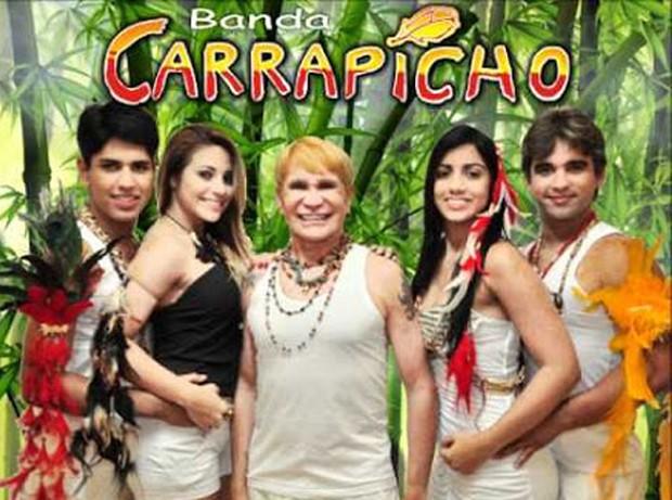 A banda Carrapicho segue firme e forte fazendo shows pela Europa (Foto: Reprodução)