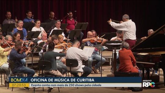 36ª Oficina de Música de Curitiba tem 250 shows e eventos; veja a programação