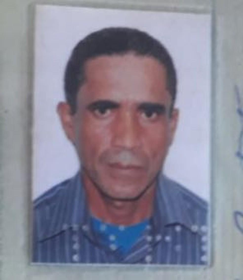 José Ildo Batista, 44 anos, foi assassinado a facadas (Foto: Polícia Civil-MT/ Divulgação)