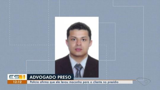 Advogado é flagrado com drogas em presídio no ES, diz polícia