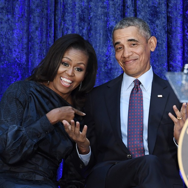 Michelle e Barack Obama (Foto: Getty Images)