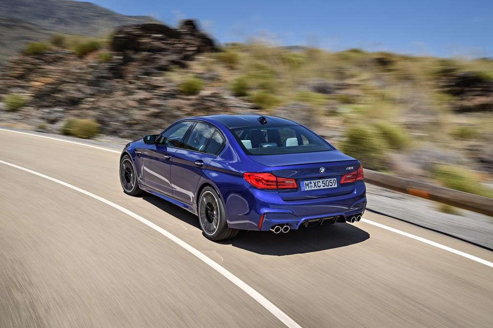 Nova geração do BMW M5 (Foto: Divulgação)