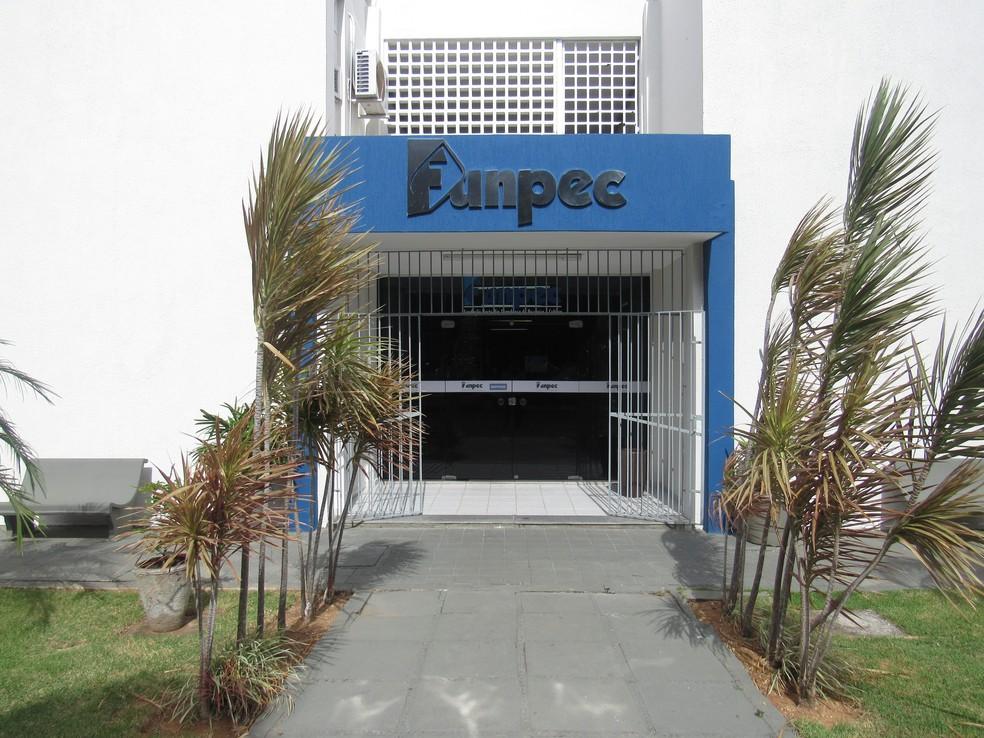 Sede da Fundação Norte-Riograndense de Pesquisa e Cultura - Funpec — Foto: Divulgação
