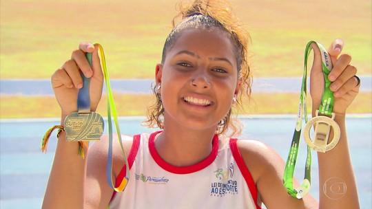 Linha de produção: Fernanda Cidrin é novo talento da marcha atlética de Pernambuco
