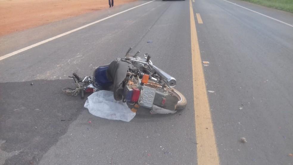 Vítima tentava atravessar a rodovia, segundo a PM (Foto: João Lã dos Santos/Arquivo Pessoal)