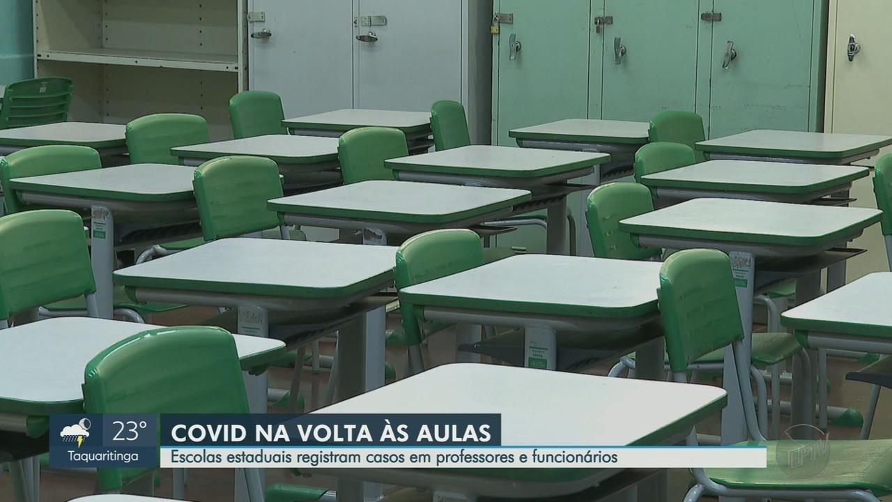 Escolas estaduais de Ribeirão Preto registram casos de Covid-19 em funcionários